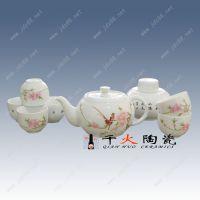 中秋节礼品景德镇产陶瓷茶具套装 商务礼品茶具套装定制厂家