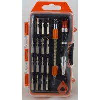 HZF-8223供应19件精密螺丝批套装工具,迷你电讯批螺丝批组套