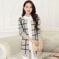 韩版大码女装 外贸原单尾货 蝙蝠针织棉线卫衣 连帽