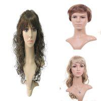 假发 模特假发 男女半身模特头发 服装模特道具 塑料模特 男女模