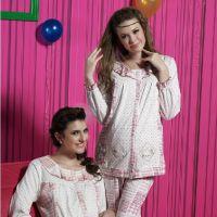 特价 雅孕 纯棉月子服 哺乳衫 孕妇睡衣套装16524