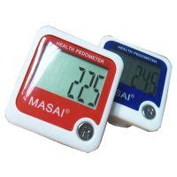 厂家供应超大屏幕计步器 计算运动里程 卡路里消耗 MASAI品牌