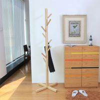 创意简约衣服架 实木落地挂衣架 实木衣帽架  工厂直销 一件代发