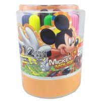 迪士尼 12色水彩笔 DM24127 涂鸦笔