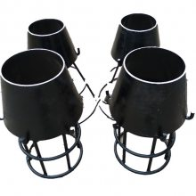 河源市喇叭口碳钢吸水喇叭口|厂家直销精品吸水喇叭口支架|河北钢制管件基地