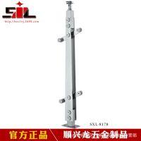 【顺兴龙】-6178不锈钢楼梯立柱 室外钢制楼梯立柱 地铁机场工程立柱