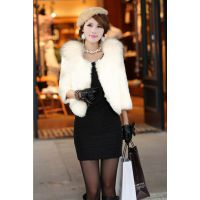 2014爆款高档女式皮草外套时尚气质大衣工厂直销呼和浩特皮草批发