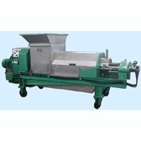 玉米秸秆双螺旋压榨脱水机专业制造商用途广泛