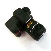 东莞工厂直销 创意优盘外壳 实用时尚单反照相机U盘外壳 PVC外壳