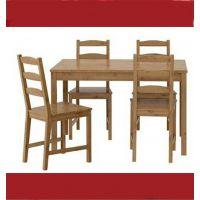 批发 宜家原厂 餐桌椅一桌四椅组合纯实木家具餐桌餐台餐椅饭桌