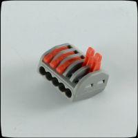 5孔电线连接器 软硬线连接快速接线头 国产万可接线器