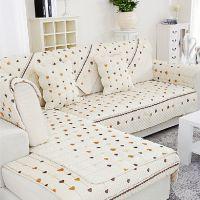 田园布艺沙发垫订做布艺时尚沙发坐垫防滑皮沙发套家居全盖沙发巾