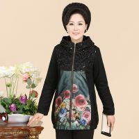 2014新款中老年女装秋装风衣外套中年女装妈妈装春秋大码长袖外套
