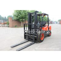 4吨机械/液力柴油叉车 加长货叉 带调距叉 厂家直销 价格优惠