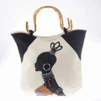 一手货源 新款民族特色手提包 民族特色布包 出口韩国布包批发
