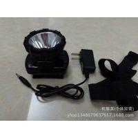 充电式锂电池5W头灯 LED强光锂电池作业灯
