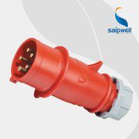 厂家直销五芯16A防水工业电源插头 可移动电源电缆防水插头SP-3