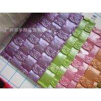 F8419经典款编织纹压纹革人造革pvc皮革面料手袋零钱包装饰软包革