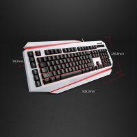 DeLUX/多彩K9500U有线键盘游戏键盘发光键盘台式电脑配件