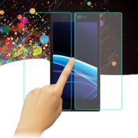 防水防油污高清手机贴膜 索尼z3专用手机贴膜 防爆钢化玻璃手机膜