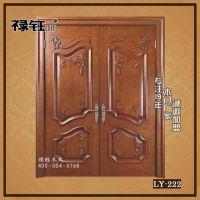 高端实木门定制入户对开门套装门实木复合烤漆门厂家直销批发