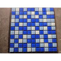 供应供应石家庄水晶马赛克厂家 游泳池专用瓷砖