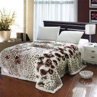 非凡超柔毛毯拉舍尔毛毯175X220/6斤 秋冬保暖超柔加厚毯子