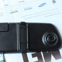 供应工厂直销新款行车记录仪 后视镜行车记录仪 1080P高清 汽车黑匣子 超薄后视镜行车记录仪