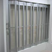 供应深圳小折叠门 水晶推拉折叠门