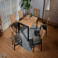 哪里有藤家具卖?到佛山藤木家具专卖店水草餐桌餐椅新款热销