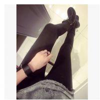 8306#秋冬新款 牛B黑色显瘦牛仔裤 买到赚到 一万个推荐 !