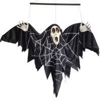 万圣节用品 鬼节道具 酒吧装饰 声控电动蝙蝠吊鬼 万圣节吊鬼