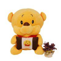 Disney迪士尼维尼熊批发 小熊公仔玩偶 可爱毛绒玩具生日礼物娃娃