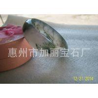 供应天然水草玛瑙手镯 惠州市加丽宝石厂专业厂家