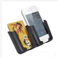 汽车多用途手机GPS导航仪支架 多用途支架 通用导航架 车载名片袋