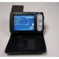 供应 真皮GPS导航仪保护套壳 订制做 生产厂家