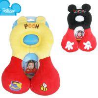 迪士尼disney 婴儿护颈枕 宝宝U型枕 推车汽车安全座椅旅行用枕头