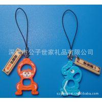 日本仿真公仔、卡通小象促销赠品、环保PVC动物挂件、彩绘钥匙扣