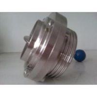 焊接式蝶阀,焊接式食品级蝶阀,3A/ISO/SMS卫生级焊接蝶阀 &66