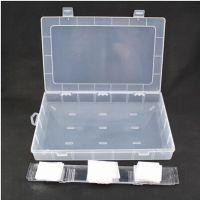 大号28格透明塑料收纳盒首饰盒整理盒储物盒 DIY橡皮圈专用