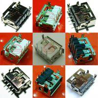 深圳厂家生产加工沉板4.9 USB母座 耐高温沉板 短体沉板