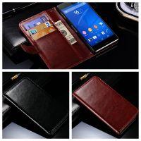 工厂直销 外贸新款 索尼 SONY Xperia Z3 疯马纹插卡手机套