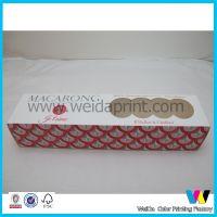 广东工厂专业定做 两头开盖马卡龙蛋糕盒包装 各种规格供应