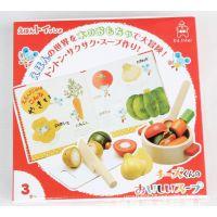木制玩具 出口日本原单 水果切切看 仿真食品 果蔬大冒险