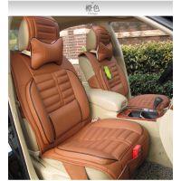 汽车用品吉利系列帝豪专用座垫四季垫夏季皮革汽车坐垫通用汽车垫