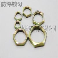 防爆锁母M15 压紧螺母 锁紧螺母厂家 不锈钢锁母规格 紧固件