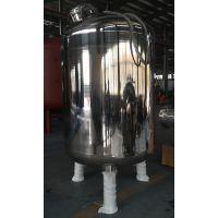 厂家直销KQSS型 提供304材质证明 试压7公斤的降低COD 悬浮物 颗粒物不锈钢石英砂过滤器