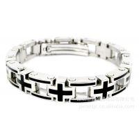 派尔得 饰品 生产加工批发 不锈钢 钛钢 表链式手链 手镯 STB-528