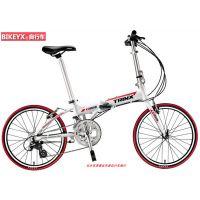窄轮径运动折叠小轮自行车千里达KA2016