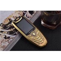 批发国产L800新款高档土豪金直板全金属机身迷你个性袖珍小手机